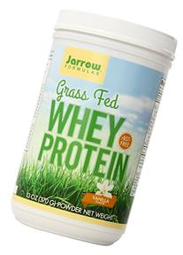 Grass Fed Whey Protein Vanilla Jarrow Formulas 13 oz  Powder