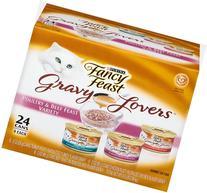 Fancy Feast Wet Cat Food, Gravy Lovers, Poultry & Beef