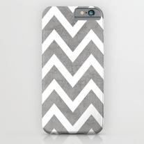 Gray Chevron iPhone 6s Case