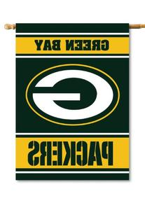 NFL Green Bay Packers 2-Sided 28-by-40-Inch House Banner