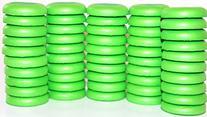 Blaydessales Green Disc Refill Set of 50 for Nerf Vortex,