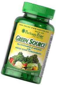 Puritan's Pride Green Source Multivitamin & Minerals-60