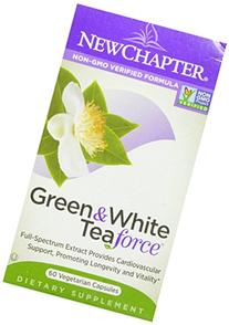 New Chapter Green Tea Supplement - Green and White Tea Force