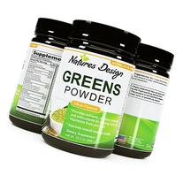 Superfood Greens Powder - Healthy Organic Blend - Energy