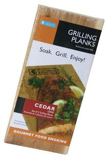 Grilling Planks - Set of 2 Cedar BBQ Grill Planks - Thicker