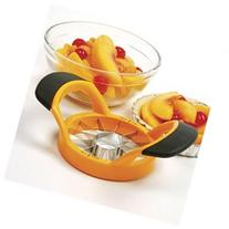 Grip EZ Peach Wedger and Pitter - Norpro - 5113