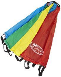 School Specialty GripStarChutes Parachute 6 foot Diameter -