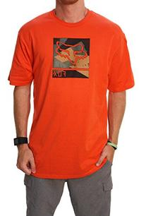 Fox Men's Grisler Short Sleeve T-Shirt, Blood Orange, Large