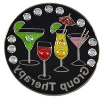 Navika Group Therapy Swarovski Crystal Ball Marker with Hat