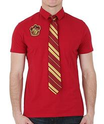 Harry Potter Gryffindor Polo With Tie