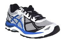 ASICS Men's Gt-2000 3 Running Shoe,White/Royal/Black,9.5 M