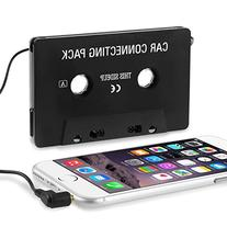 Insten Car Cassette Tape Adapter for Android Samsung Edge 7