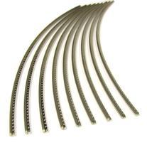 Guitar Fret Wire - Jescar WIDE-MEDIUM  Nickel-Silver - Six