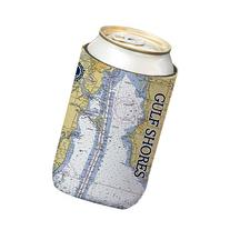 Altered Latitudes Gulf Shores Chart Standard Beverage Cooler