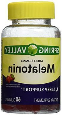Spring Valley Adult Gummy Melatoning 5mg - Natural