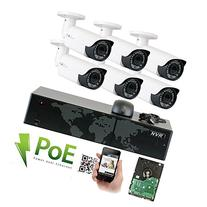 GW Security 8 Channel 5MP 1920P NVR Outdoor Indoor HD IP PoE