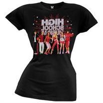 High School Musical - Gym Photo Girl's T-Shirt - X-S