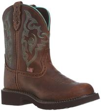 """Justin Boots Women's Gypsy Collection 8"""" Boot with Perfed"""
