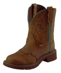 "Justin Boots Women's Gypsy Collection 8"" Soft Toe, Aged Bark"