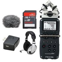 Zoom H5 Handy Recorder Kit with a Custom Windbuster, AD-17