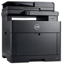 Dell H825cdw Laser Multifunction Printer - Color - Plain