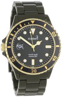 Freelook Men's HA1438-8 Sea Diver Military Green with