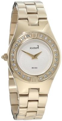 Freelook Women's HA2082G-3A All Shiny Gold With Swarovski