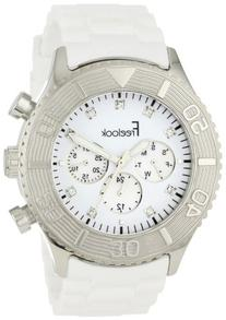 Freelook Men's HA5046-9 White Chrono White Dial Watch