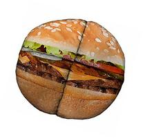 Hacky Sack - Cheeseburger 8 Panelled Suede