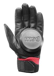 Bern Unlimited Leather Haight Longboard Glove, Red, Large/X-