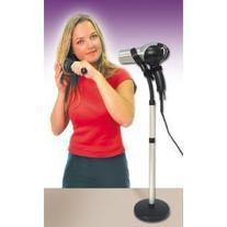Hands Free Adjustable Hair Dryer Floor Holder Stand-as Seen