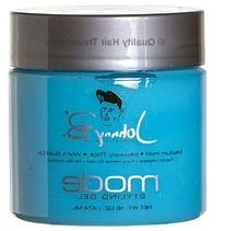 Johnny B. Mode Styling Gel, Medium Hold, 16 Ounce