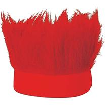 Beistle Hairy Headband, Red