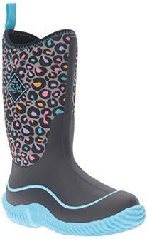 Muck Boot Kids' Hale Pullon, Blue Leopard, 7 M US Toddler