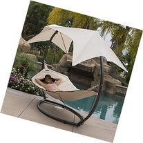 Bellezza© Hammock Swing with Sunroof Dual Canopy Sunshade