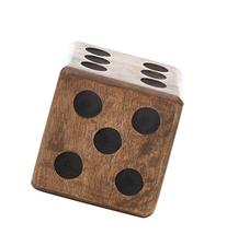 Creative Co-Op Hand Carved Mango Wooden Dice