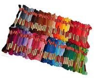 100 Colors Hand Embroidery Floss Cross Stitch Threads skeins