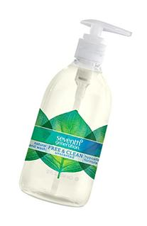 Seventh Generation Hand Wash,  Free & Clean Unscented, 12 Fl
