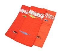 Hand Woven Thunderbird Mexican Yoga Blanket Orange