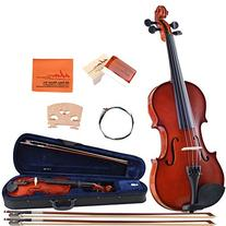 ADM Handcrafted Solid Wood Student Violin 3/4 Size with