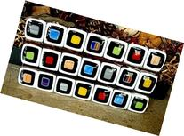 Handmade Fused Mosaic Glass Art Plate, Serving Tray,