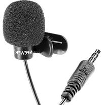 Neewer 3.5mm Hands Free Computer Clip on Mini Lapel