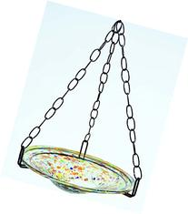 Hanging Bird Feeder/Bird Bath with Confetti bowl-18 Inches
