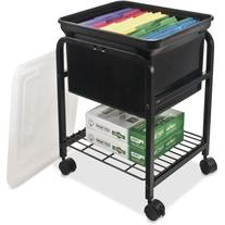 INNOVATIVE STORAGE DESIGN Hanging File Cart with Clear Lid,