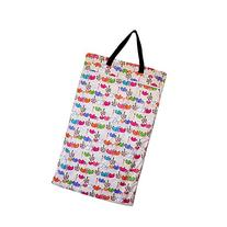 Large Hanging Wet Dry Bag for Baby Cloth Diapers or Laundry