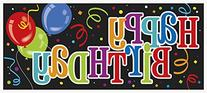 "Happy Birthday Wall Banner, 60"" x 27"