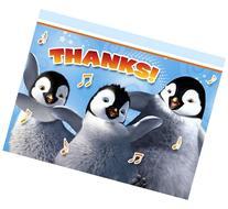 Happy Feet 'Two' Thank You Notes w/ Envelopes