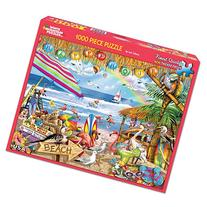 White Mountain Puzzles Happy Hour Puzzle - 1000 Piece Jigsaw