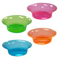 Party Essentials Hard Plastic 10-Ounce Party/Salad Bowls,