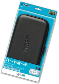 Hard Pouch for Wii U Gamepad  Japan Import